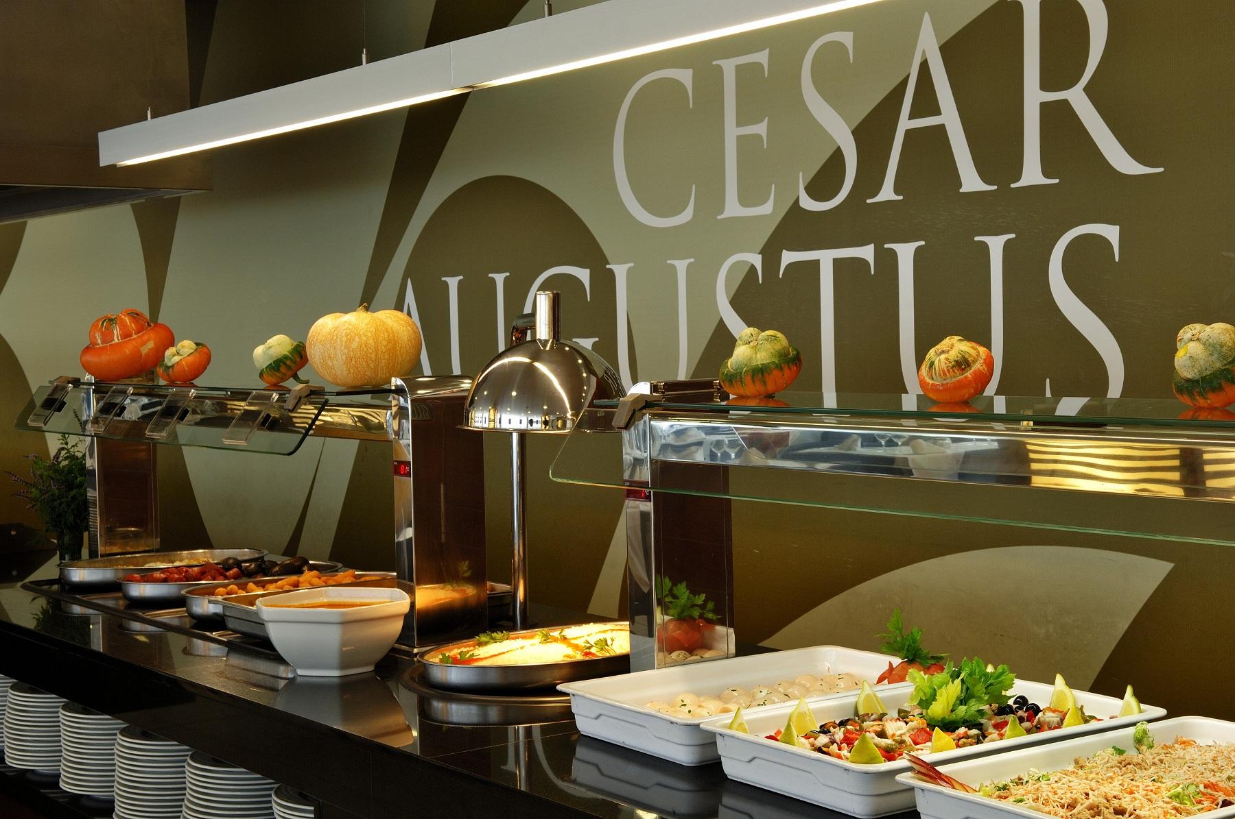 restaurante hotel cesar augustus